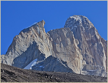 Guillaumet tower rock climbing expedition - South Patagonia, Argentina South America