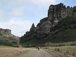 Andes crossing mountain bike tour Patagonia