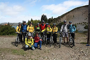 Patagonia crossing the Andes to Chile, mountain bike trip