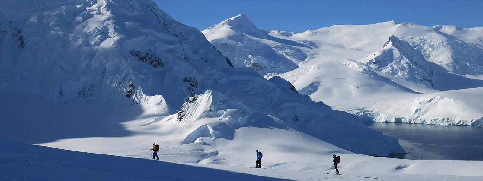 antarctica ski touring adventure trip - customized tailor made