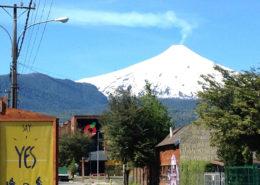ski trip chile volcanoes