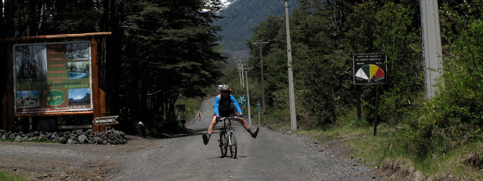 d8df0d6c7 ACROSS THE ANDES BIKING FROM ARGENTINA TO CHILE. Leght Trip