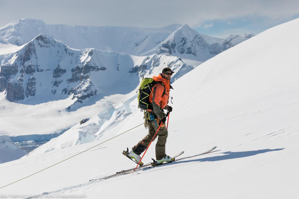 antarctica, snowbrains, mountain guide
