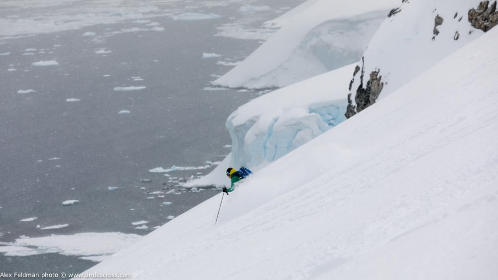 mountain guides antarctica skiing