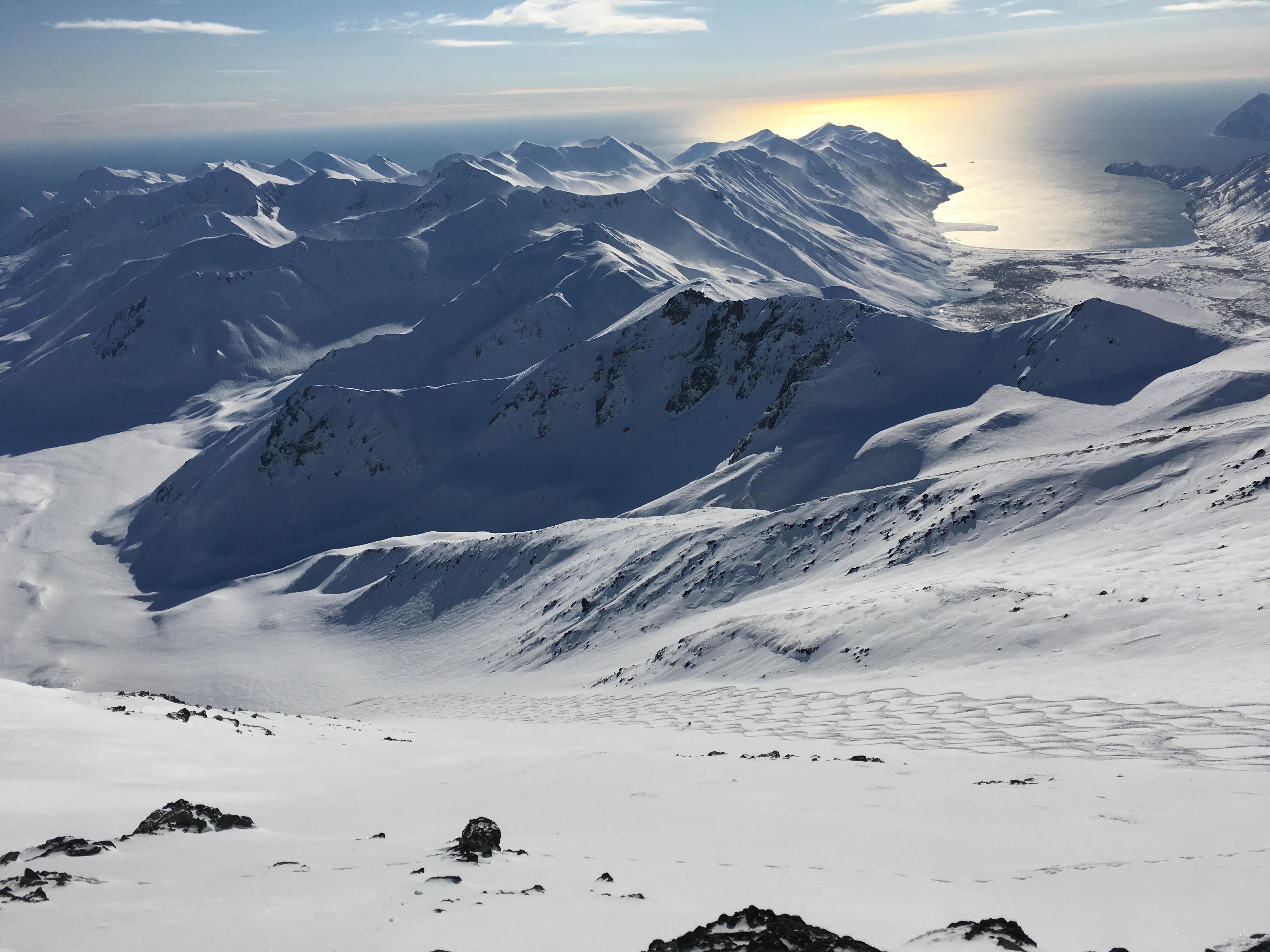 heliski volcanos chile argentina kamchatka
