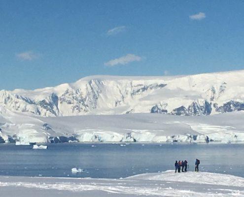 antarctica ski touring