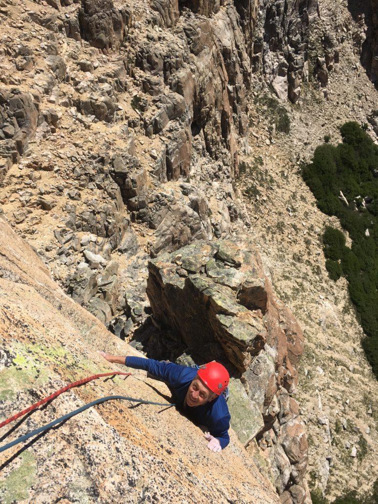frey hut climbing, guides, guiding, guided climbing trips