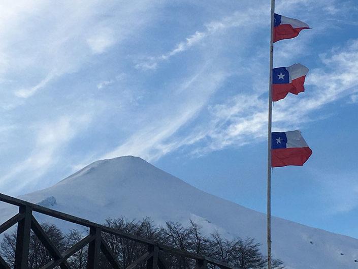 volcan osorno, osorno volcano, ski touring, backcountry ski trips, mountain guides