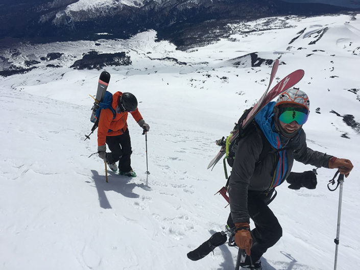 bootpack chile, mountain guides, guiding