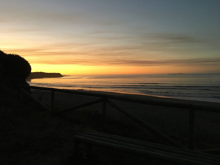 sunset chile, ocean, surf, cold water surfing, surfing, passion, chile, pacific ocean