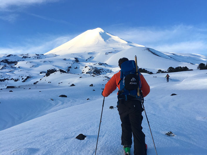 volcanoes, chile, ski trip, skiing, ski touring, backcountry chile, backcountry argentina, uiagm guides, ski guides, ifmga, surfing chile, surf, cold water surfing