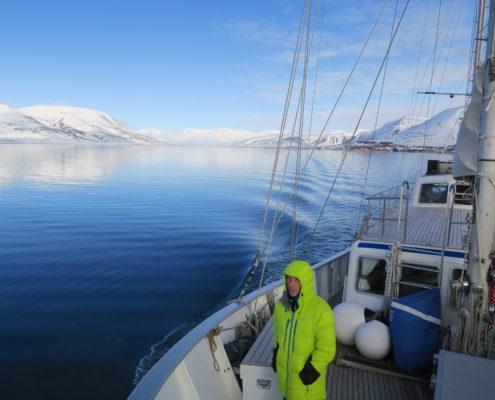 sailing, skiing , svalbard, spitsbergen