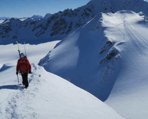mountains, skiing ,spitsbergen, mountain guides